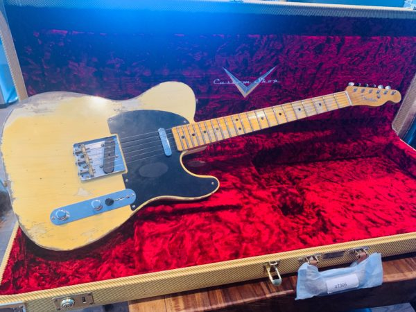 FullSizeRender 600x450 - 2019 Fender Custom Shop NAMM Ltd Edition 51 Nocaster Heavy Relic Guitar