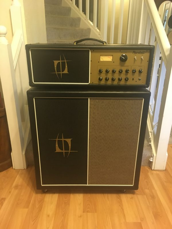 IMG 2517 e1570209704860 600x800 - Randall Nuno Bettencourt NB King 100 100W Tube Guitar Amp Head/4-12 Cab Half Stack