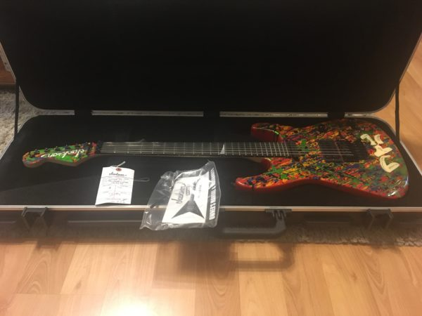 IMG 2536 600x450 - 2011 Jackson PC1 Splatter Guitar Hand Painted by Phil Collen