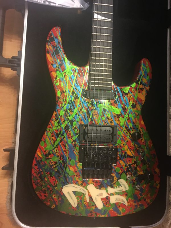 IMG 2538 e1570893332140 600x800 - 2011 Jackson PC1 Splatter Guitar Hand Painted by Phil Collen