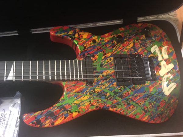 IMG 2542 600x450 - 2011 Jackson PC1 Splatter Guitar Hand Painted by Phil Collen