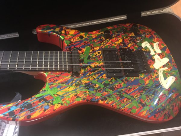 IMG 2549 600x450 - 2011 Jackson PC1 Splatter Guitar Hand Painted by Phil Collen