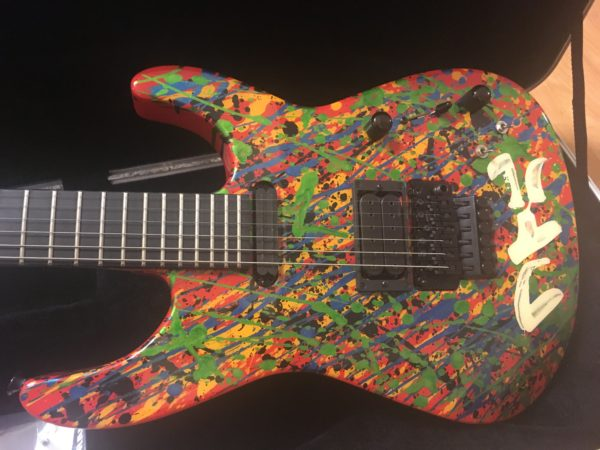 IMG 2550 600x450 - 2011 Jackson PC1 Splatter Guitar Hand Painted by Phil Collen