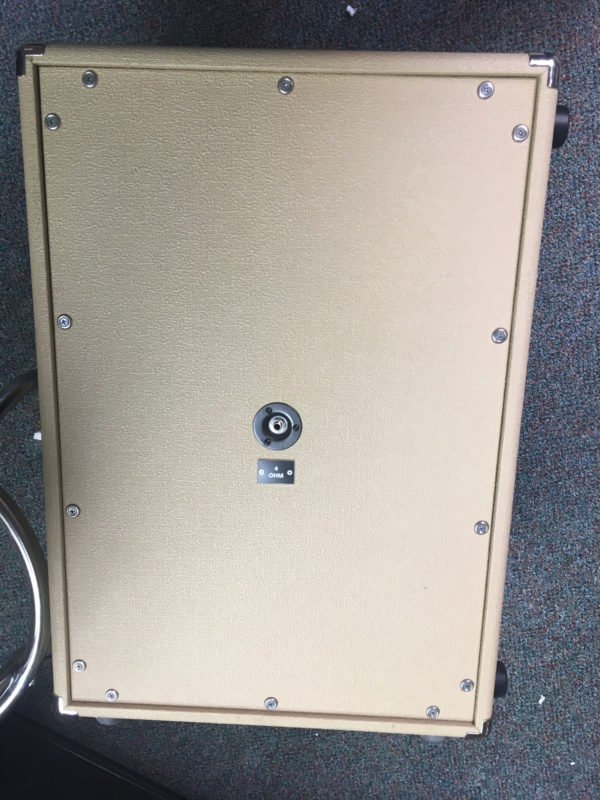 IMG 2833 600x800 - Dr Z Z-Best 2x12 Guitar Speaker Cab Creme 4 Ohm