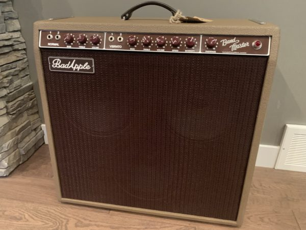 IMG 3533 600x450 - Bad Apple Brownface Bandmaster Clone Guitar Amp-Hand Wired Point to Point