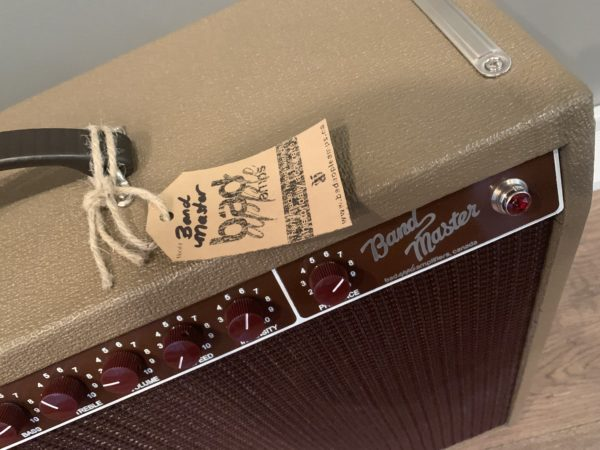 IMG 3537 600x450 - Bad Apple Brownface Bandmaster Clone Guitar Amp-Hand Wired Point to Point