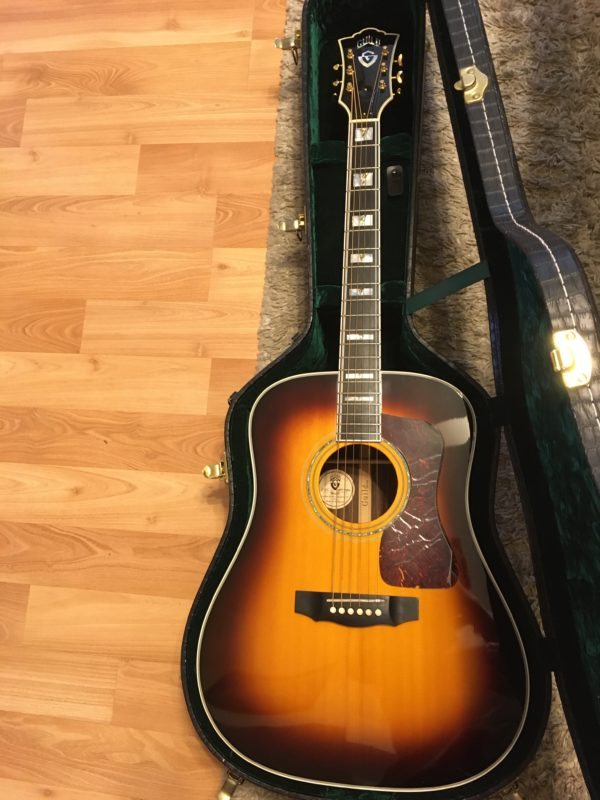 IMG 2943 e1573091858466 600x800 - Guild D-55  Antique Burst Acoustic Dreadnaught Guitar