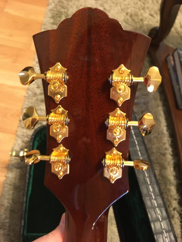 IMG 2953 e1573091772337 600x800 - Guild D-55  Antique Burst Acoustic Dreadnaught Guitar
