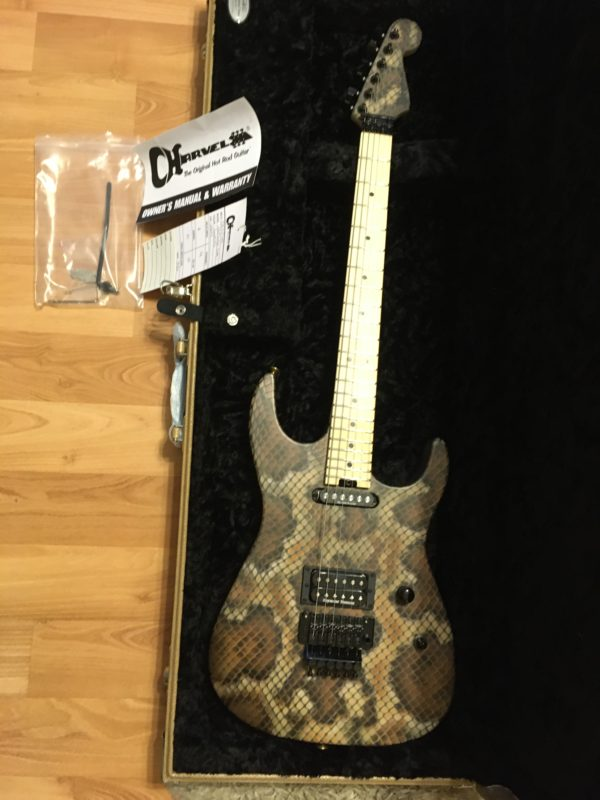 IMG 3408 600x800 - Brand New 2019 Charvel USA Warren DeMartini Signature Snakeskin Guitar