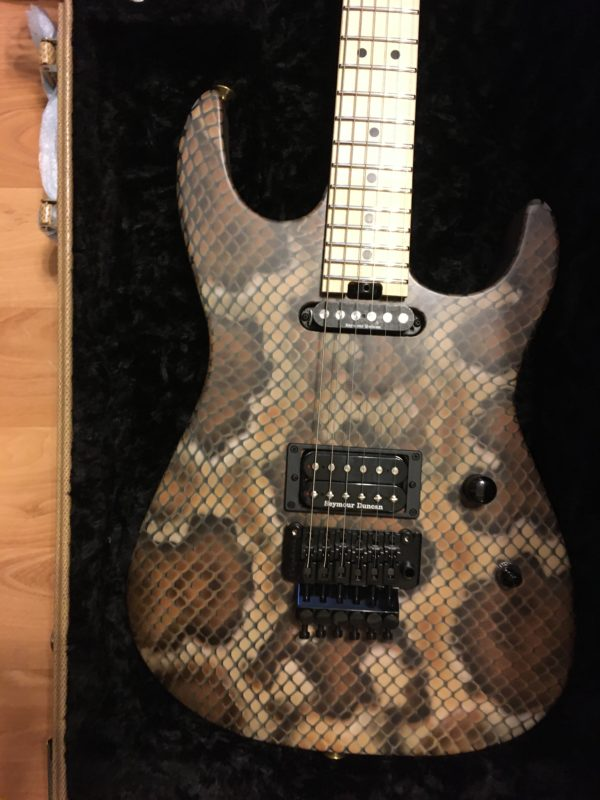 IMG 3409 600x800 - Brand New 2019 Charvel USA Warren DeMartini Signature Snakeskin Guitar