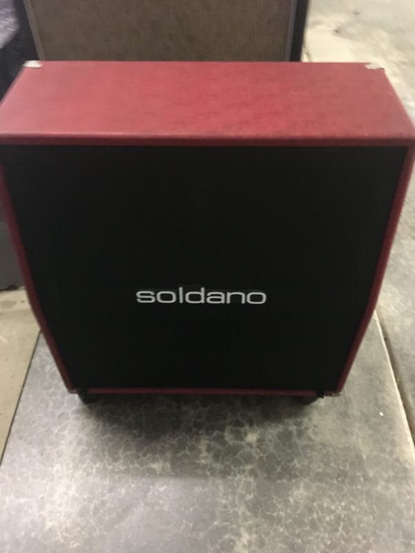 IMG 3624 600x800 - Soldano Hot Rod 50 Half Stack-Head-4x12 Cab Matching Red/Black Tolex
