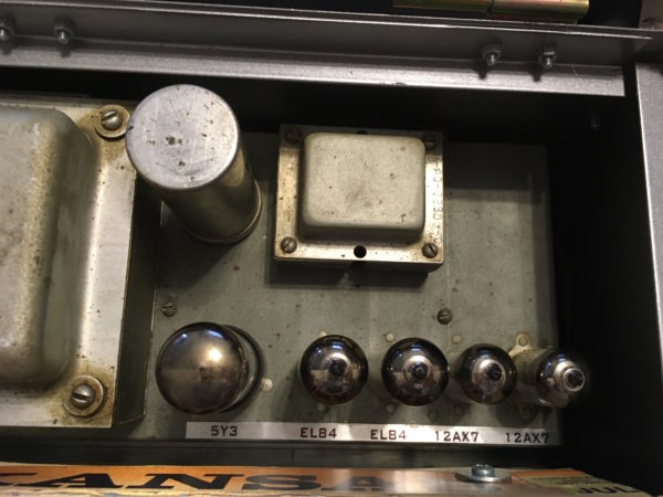 IMG 3683 600x450 - Analog Outfitters The Sarge  15 Watt Tube Amp