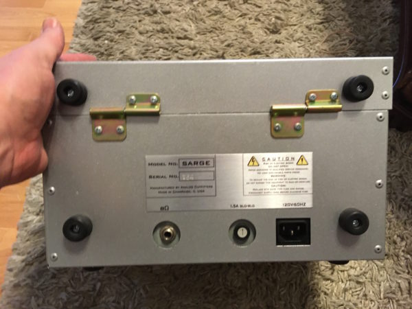 IMG 3687 600x450 - Analog Outfitters The Sarge  15 Watt Tube Amp