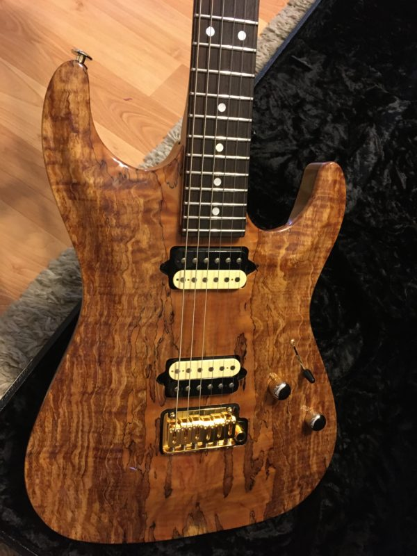 IMG 3721 600x800 - 2018 Suhr Carve Top Standard HH Spalted Maple Top-Indian Rosewood Board