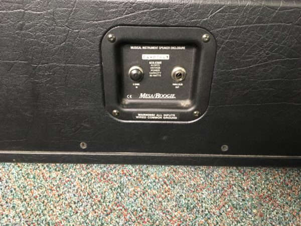 IMG 3810 600x450 - Mesa Boogie Lone Star 4x10 Guitar Speaker Cabinet
