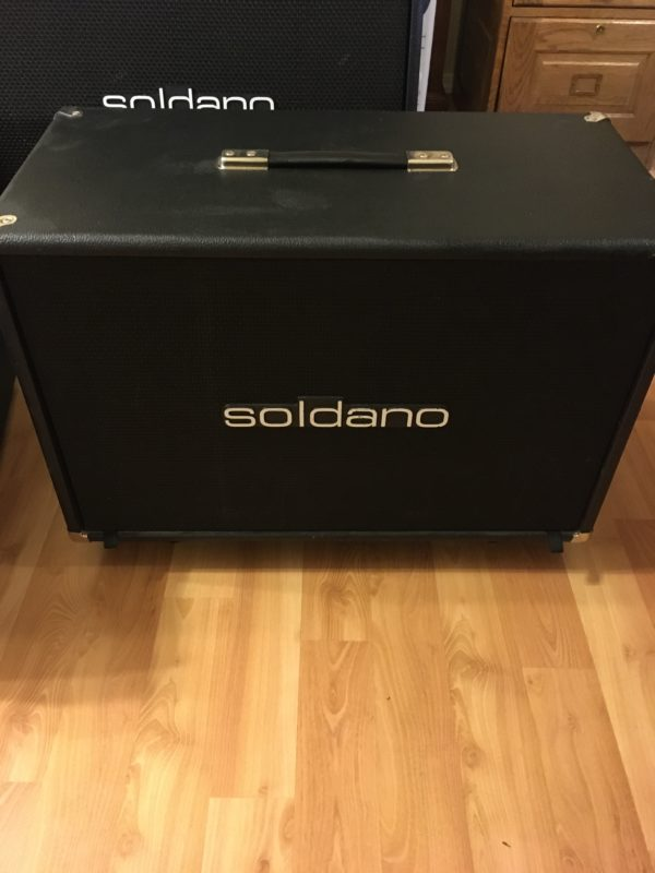 IMG 3828 600x800 - Soldano 2x12 Guitar Speaker Cab W/Celestion Greenbacks