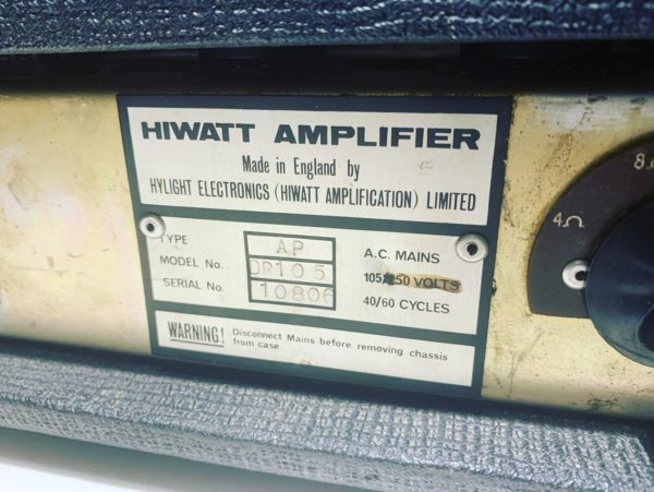 IMG 5107 600x451 - 1977 Hiwatt Custom DR105 100 Watt Tube Head