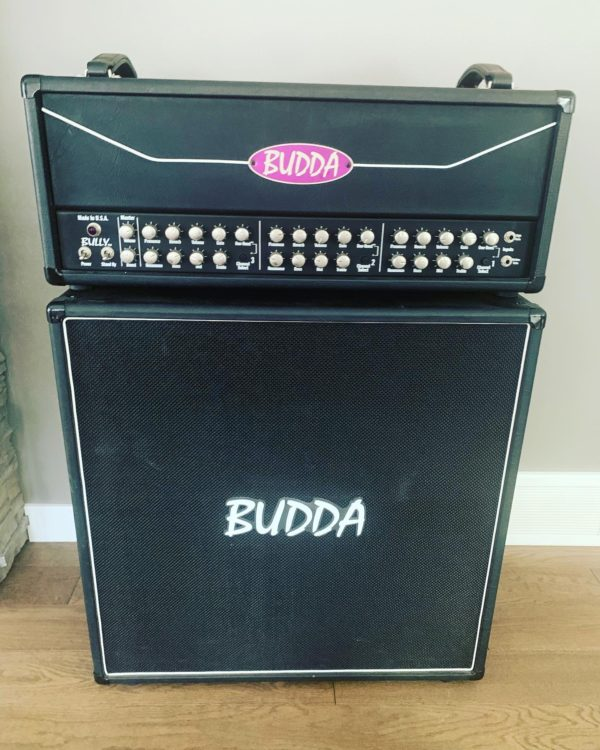 IMG 5204 600x750 - Budda Bully 100 Watt Head W/ Matching 4x12 Speaker Cab