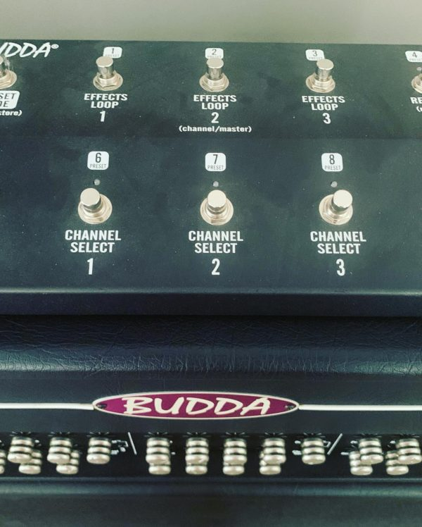 IMG 5205 600x748 - Budda Bully 100 Watt Head W/ Matching 4x12 Speaker Cab