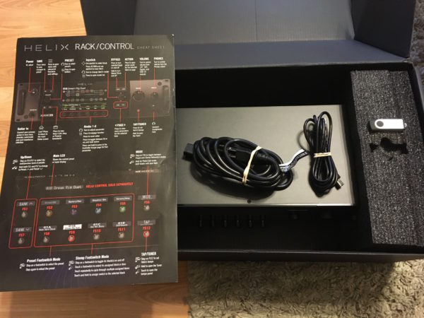 IMG 4048 600x450 - Line 6 Helix Rack Guitar Multi-Effects Processor In Box
