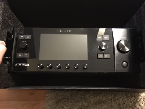 IMG 4049 600x450 - Line 6 Helix Rack Guitar Multi-Effects Processor In Box