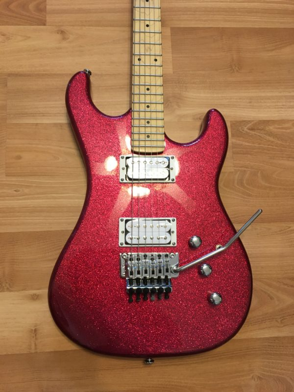 IMG 4343 600x800 - Kramer Limited Edition Pacer Vintage Metallic Candy Red Sparkle Guitar