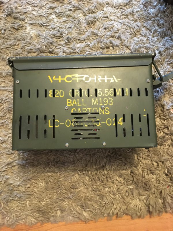 IMG 4442 600x800 - Victoria Amps VIC 105 Amplifier Ammo Can Amp