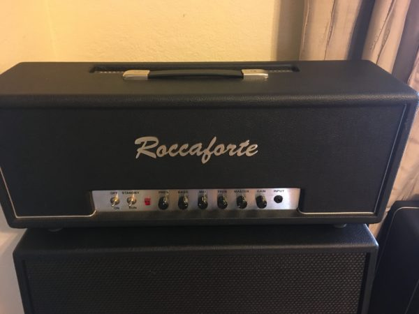 IMG 4446 600x450 - Roccaforte Custom 80 Hand-wired Plexi Tube Amp Head