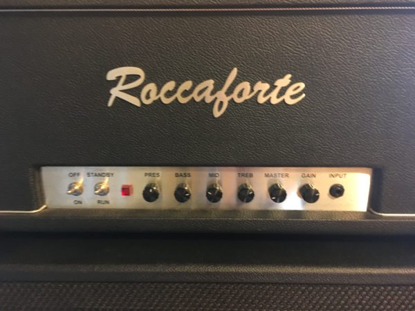 IMG 4447 600x450 - Roccaforte Custom 80 Hand-wired Plexi Tube Amp Head
