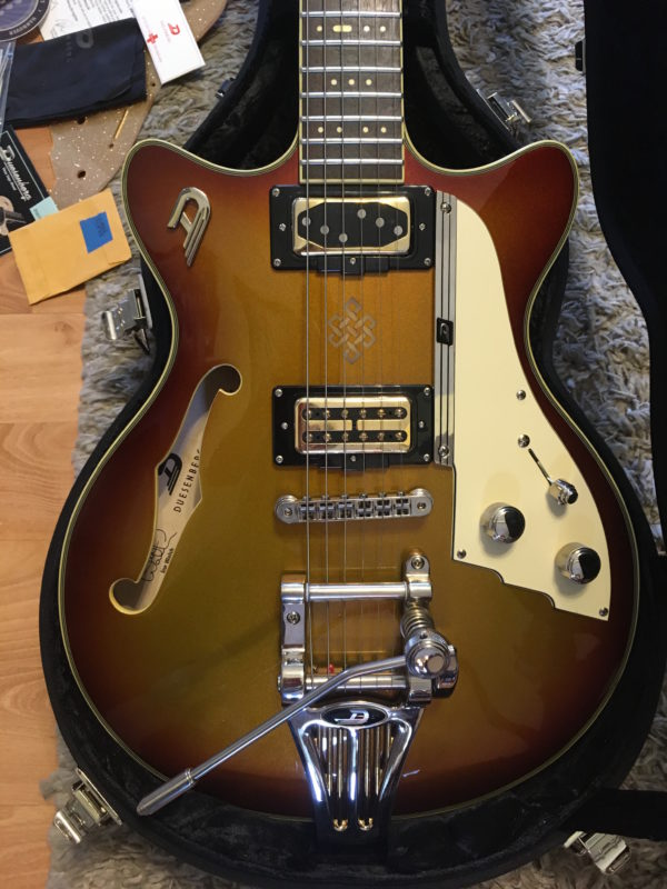 IMG 4806 600x800 - Duesenberg USA Alliance Joe Walsh Semi-Hollow Electric Guitar