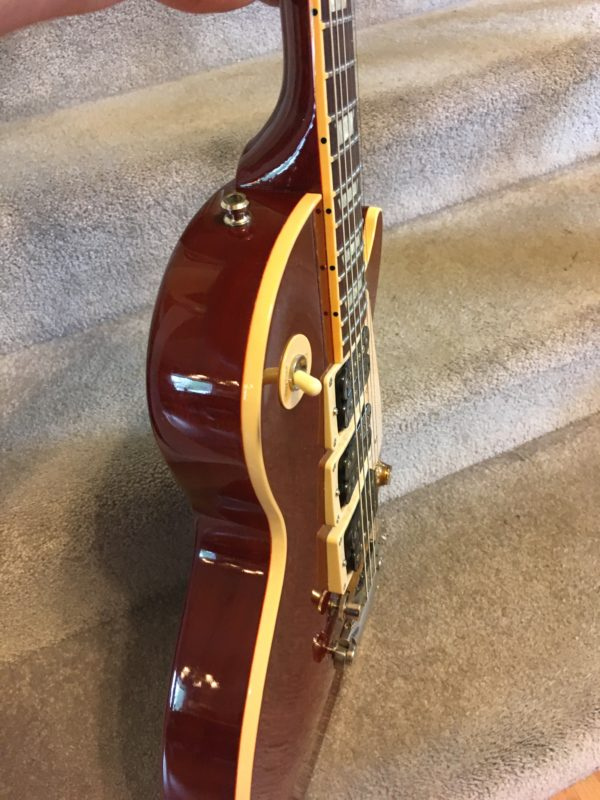 IMG 4872 600x800 - 2002 Gibson Les Paul Standard Mahogany 3 Pickup Seymour Duncan Limited Edition Guitar