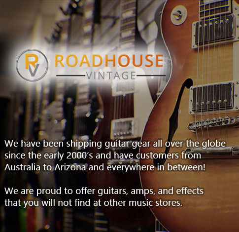 Roadhouse Boutique Guitars - Roadhouse Vintage Guitars