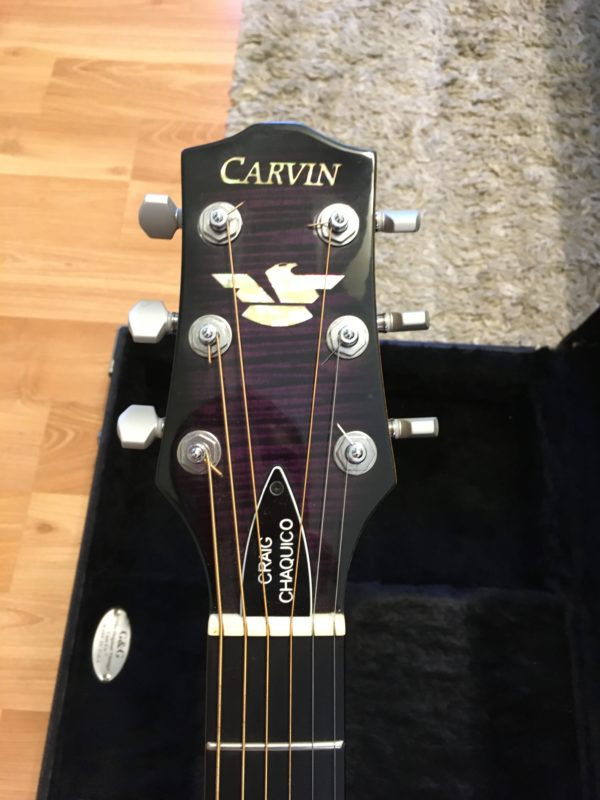 IMG 5349 600x800 - Carvin CC275 Craig Chaquico Acoustic/Electric Purple Flame Top