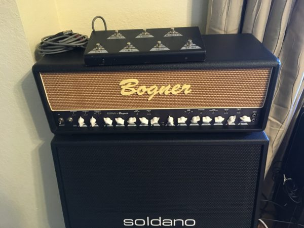 IMG 5396 600x450 - Bogner Ecstasy 101B 100-watt Tube Head W/Footswitch