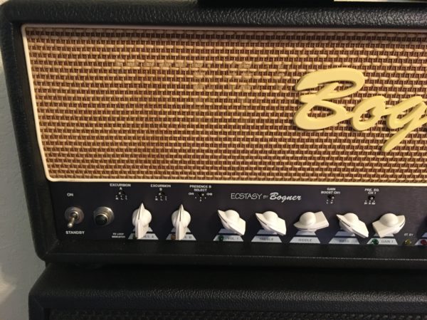 IMG 5397 600x450 - Bogner Ecstasy 101B 100-watt Tube Head W/Footswitch