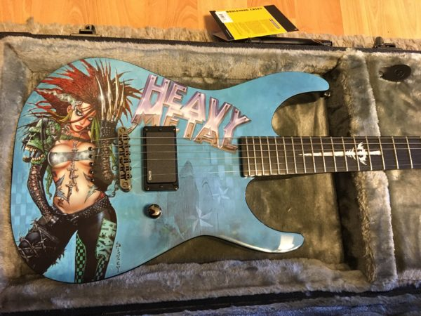IMG 5507 600x450 - ESP LTD Heavy Metal 1 Graphic Guitar