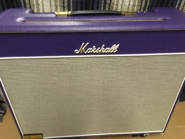 IMG 5699 600x450 - 1996 Marshall JTM50 Tremolo 2x12 Combo Special Guitar Center Edition in Purple