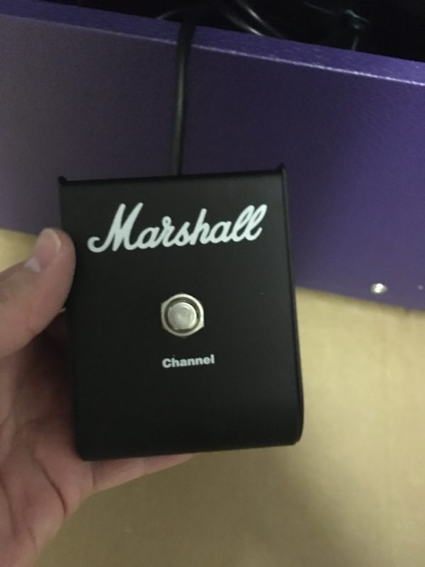 IMG 5701 600x800 - 1996 Marshall JTM50 Tremolo 2x12 Combo Special Guitar Center Edition in Purple