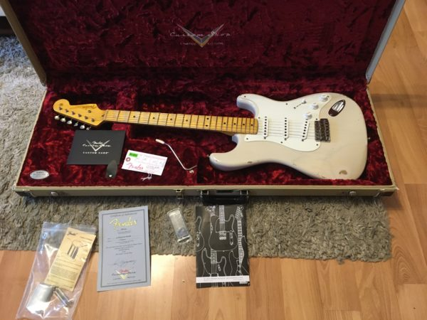IMG 5752 600x450 - Fender Custom Shop Limited 55 Stratocaster Heavy Relic Dirty Blonde
