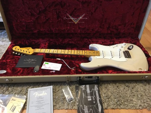IMG 5753 600x450 - Fender Custom Shop Limited 55 Stratocaster Heavy Relic Dirty Blonde
