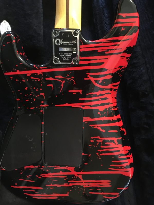 IMG 5774 600x800 - Charvel USA Warren DeMartini Signature Bloody Skull Guitar