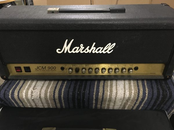 IMG 5894 600x450 - Marshall JCM 900 Model 4500 50-Watt Hi Gain Dual Reverb Head