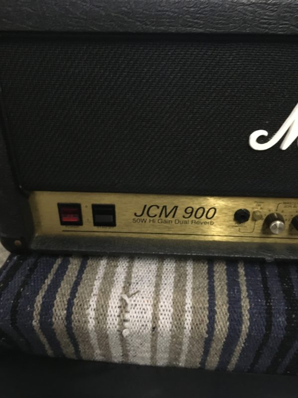 IMG 5895 600x800 - Marshall JCM 900 Model 4500 50-Watt Hi Gain Dual Reverb Head
