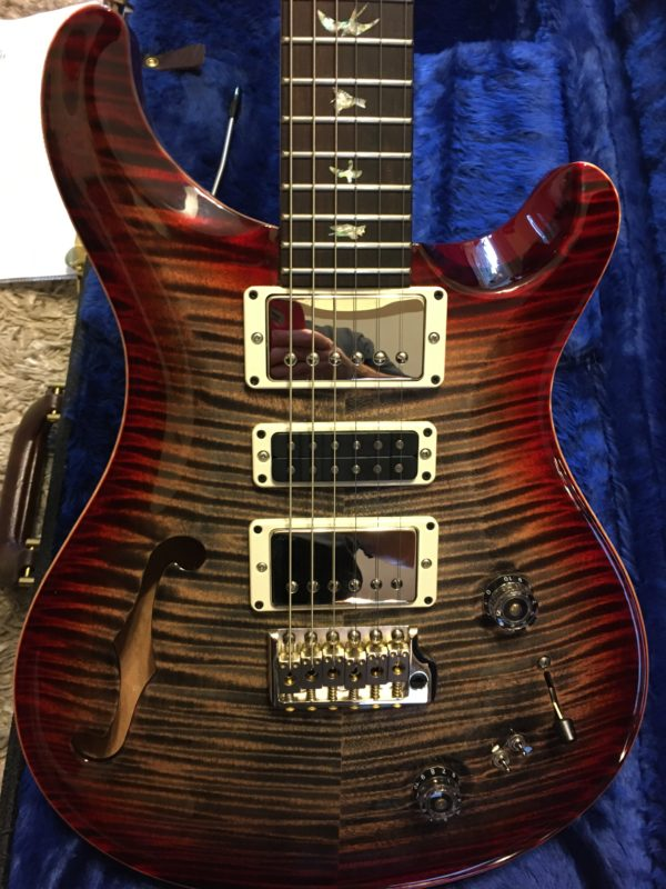IMG 6183 600x800 - 2019 PRS Wood Library Special 22 Guitar Solid Rosewood Neck Brazilian Rosewood Board