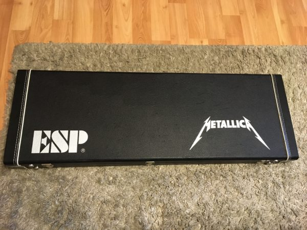 IMG 6216 600x450 - 2014 ESP LTD Metallica Ride The Lightning Limited Edition Electric Guitar