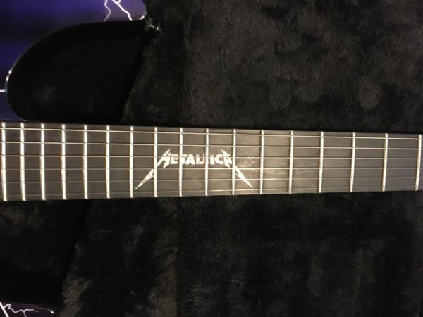 IMG 6219 600x450 - 2014 ESP LTD Metallica Ride The Lightning Limited Edition Electric Guitar