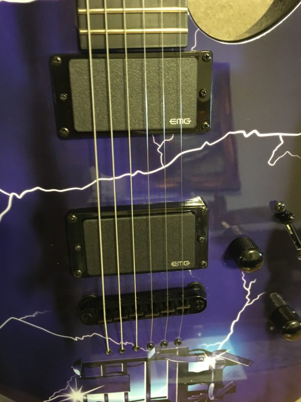 IMG 6227 600x800 - 2014 ESP LTD Metallica Ride The Lightning Limited Edition Electric Guitar