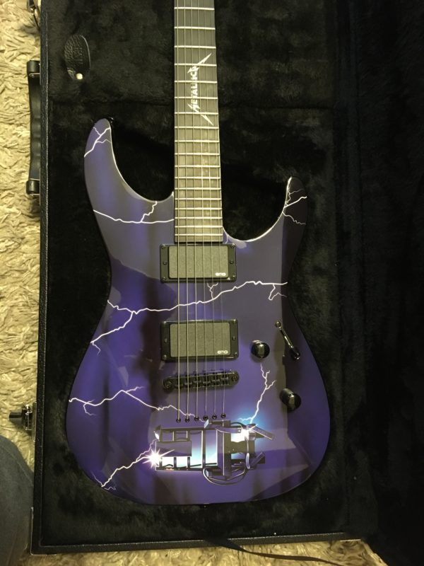 IMG 6229 600x800 - 2014 ESP LTD Metallica Ride The Lightning Limited Edition Electric Guitar