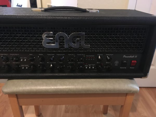 IMG 7106 600x450 - Engl Powerball II 100W Tube Guitar Amp Head