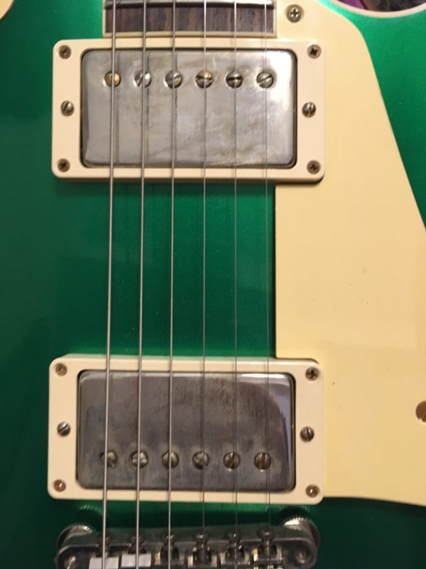 IMG 7726 600x800 - Gibson Custom Shop Historic '57 Les Paul Standard VOS Electric Guitar Candy Green
